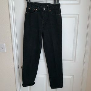 Levi's 512 mom jeans